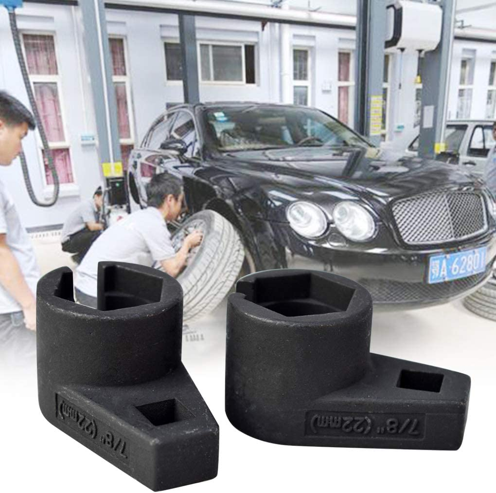 UHAoo 4 Point 22mm Oxygen Sensor Socket Wrench Auto Repair O2 Sensor Removal Nut Offset Tool