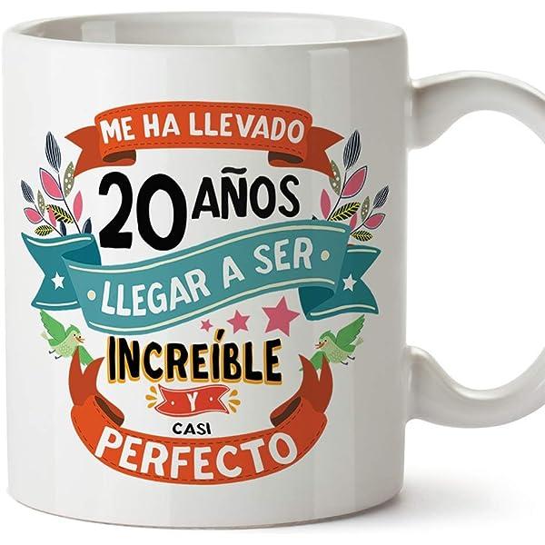 MUGFFINS Taza 20 Cumpleaños -