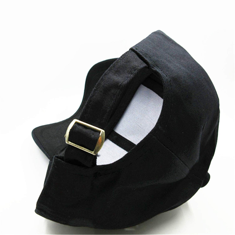 Wilbur Gold Letter Embroidery Cotton Baseball Cap Hip-hop Cap Adjustable Hats for Kids Men Women