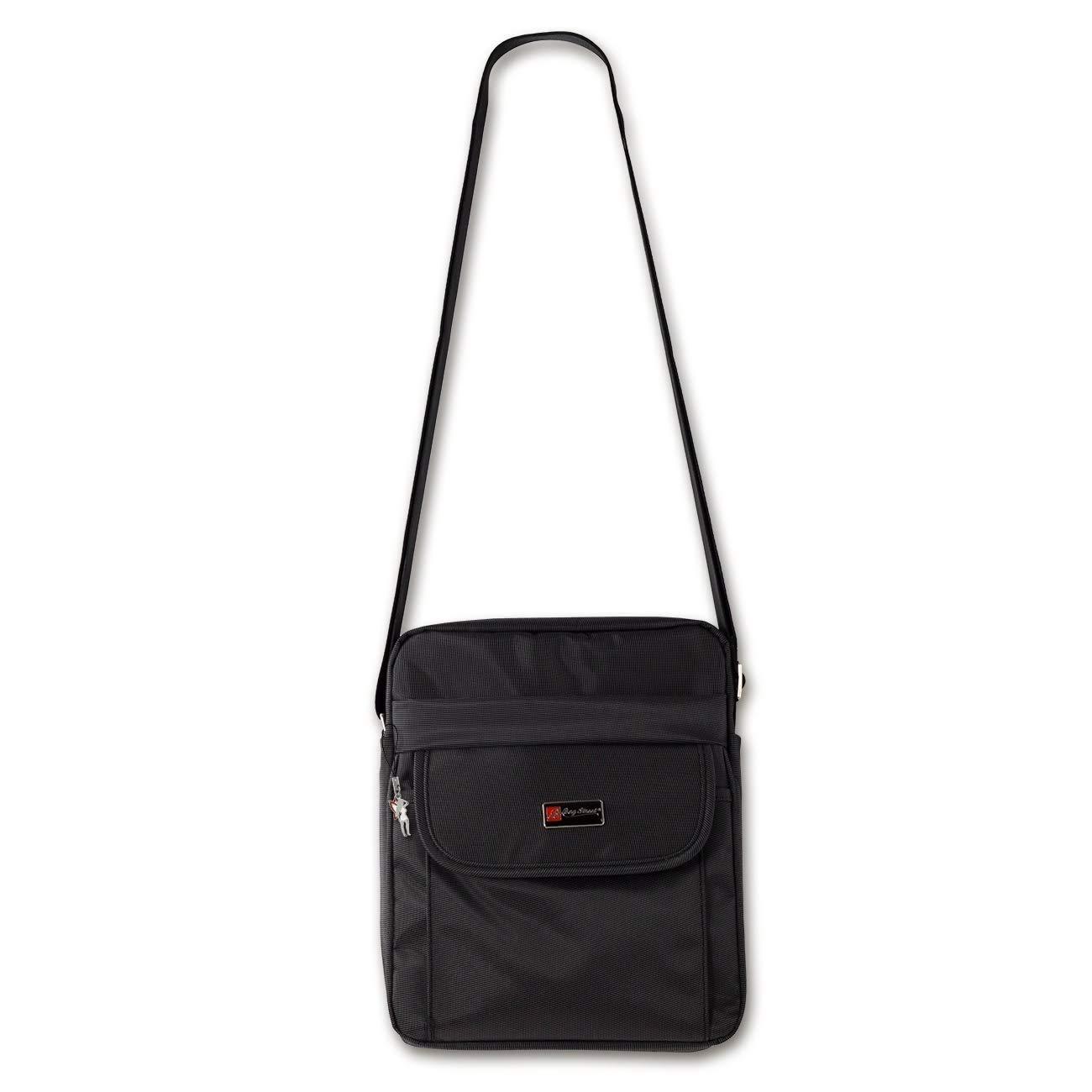 b64dd5fb46d27 DrachenLeder Bag Street Umhängetasche Crossover Schultertasche Polyester  schwarz OTJ253S  Amazon.de  Schuhe   Handtaschen