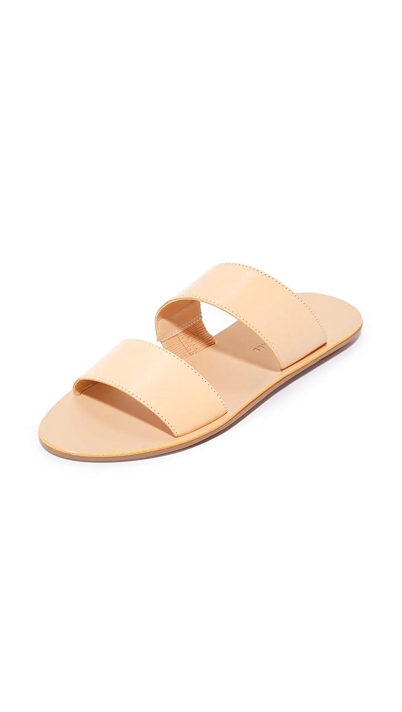 Loeffler Randall Women's Clem Flat Sandal B01N3MLJCV 6 B(M) US|Natural