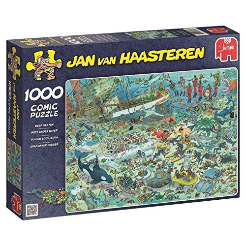 Jumbo Jan Van Haasteren Deep Sea Fun Jigsaw Puzzle (1000 Piece) ()