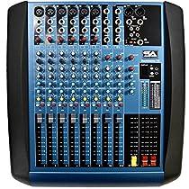 Seismic Audio - Backbone10 - 10 Channel Compact Mixer Console EQ