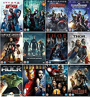 marvels the avengers 12 movies complete dvd collection ant man avengers assemble avengers - The Avengers