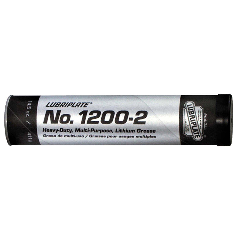 Lubriplate L0102-098 No. 1200-2 Multi-Purpose Grease Cartridge, 14.5 oz (Pack of 10)