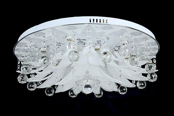 Dematex moderna lampada da soffitto con led mp usb telecomando