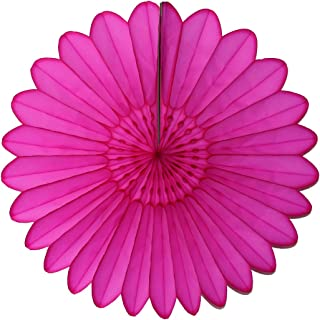 product image for 3-Pack 18 Inch Tissue Paper Fanburst (Cerise)
