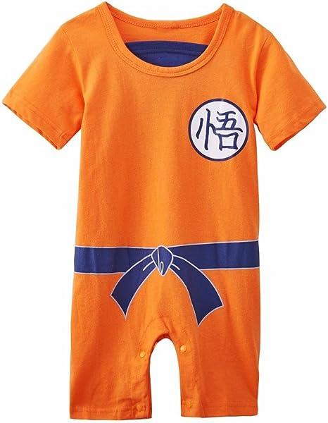 Ropa para bebé, diseño súper heroe DBZ, body pijama para niños ...