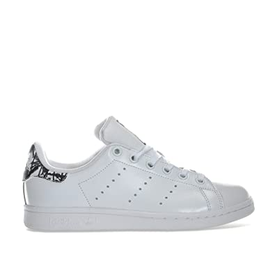 adidas Originals Baskets Stan Smith Blanc J Blanc Smith Garçon: adidas Originals 3fd375