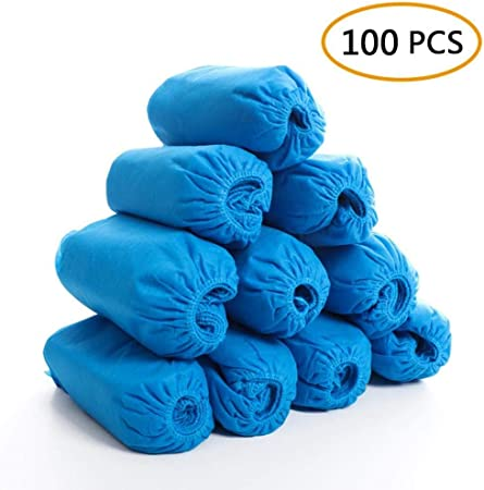100 Pack Shoe Covers Disposable Hygienic Boot Cover for Medical Protection