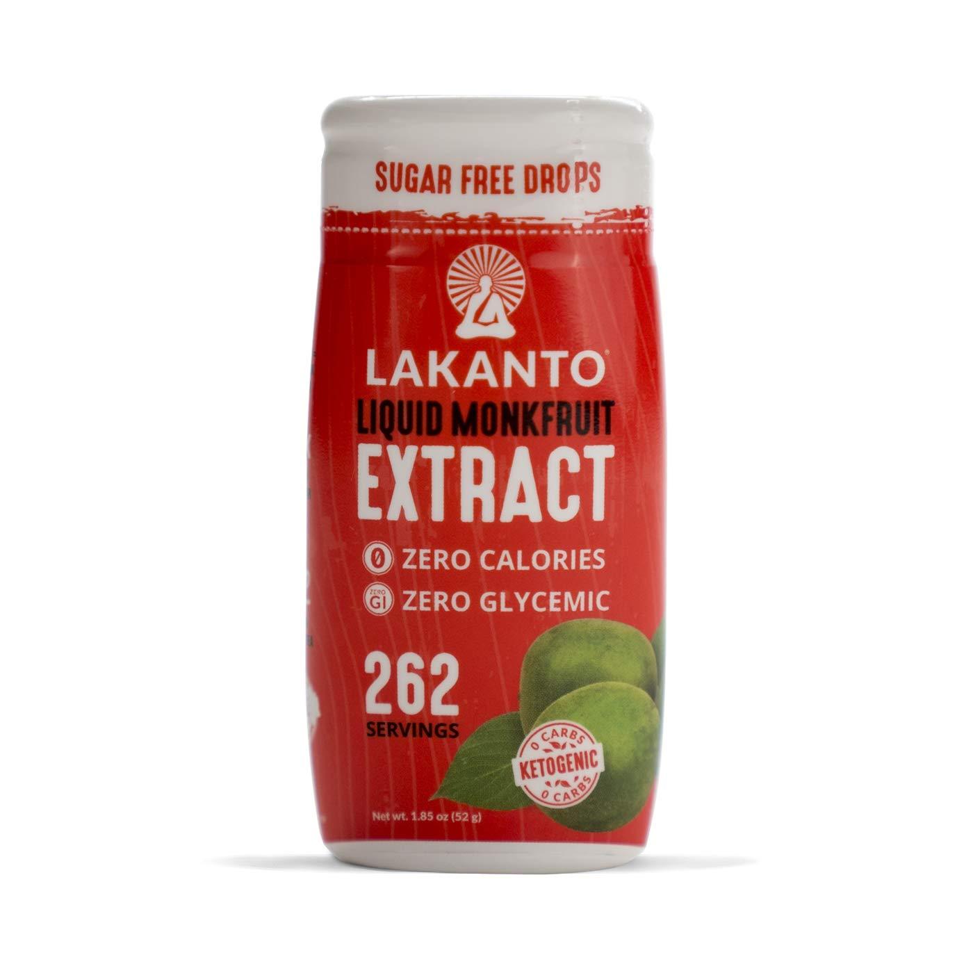 Lakanto Liquid Monkfruit Sweetener | Zero Calories | Original Flavor