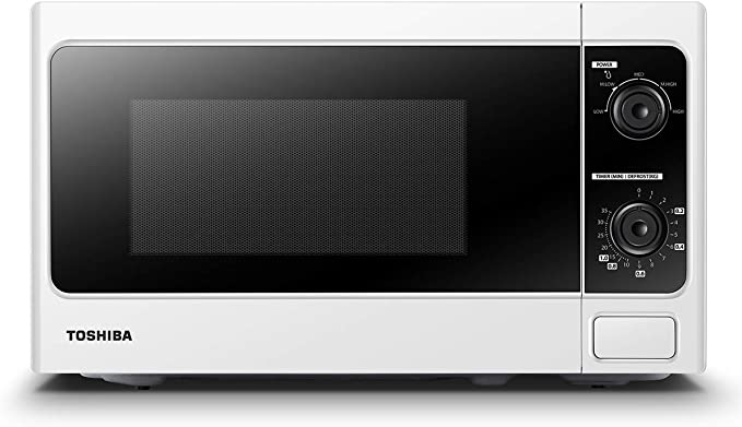 TOSHIBA Microwave MM-MM20P(WH) in Kenya 20L Manual Microwave Oven, 800W - White