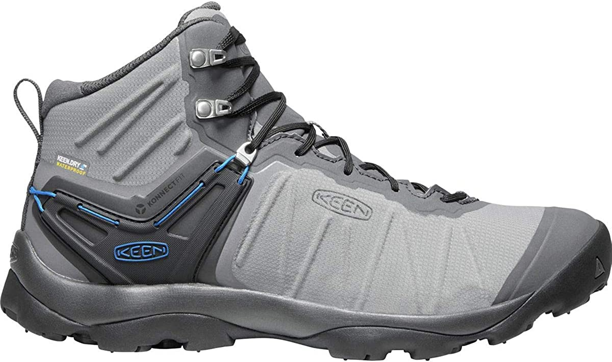Keen Venture Mid Waterproof Boot – Men s Steel Grey Magnet,