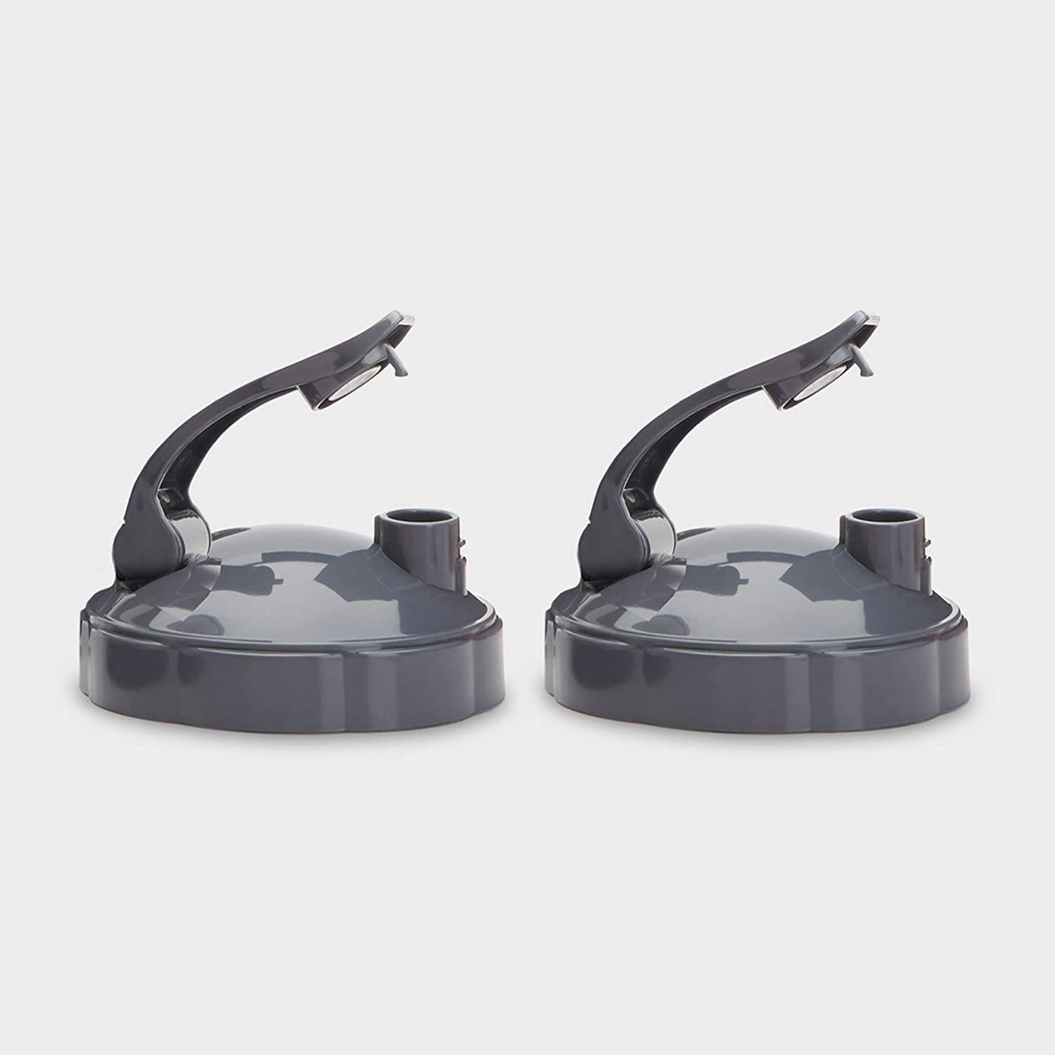 NutriBullet Flip Top To-Go Lid (set of 2).25 Lbs, Grey