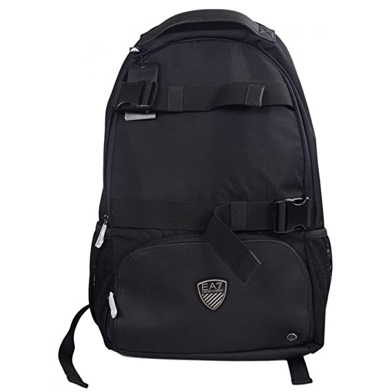 b879bed7def2 EA7 by Emporio Armani 275765 Polyester Multipocket Rucksack One Size   Amazon.co.uk  Clothing