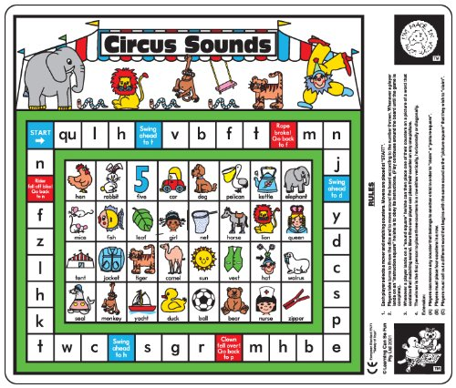 Circus Sounds Phonics Floor Dice Game Learning Can Be Fun