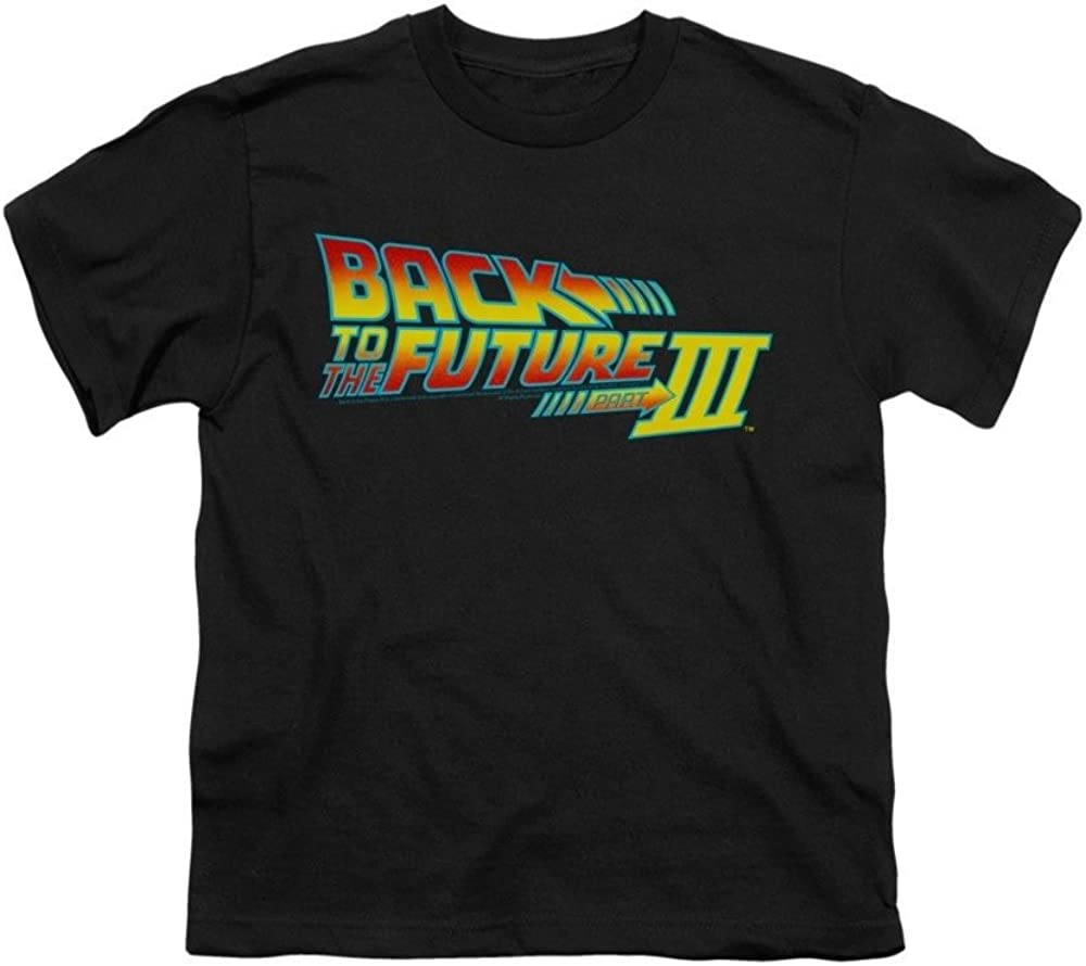 Back To The Future Iii Logo Youth T-shirt