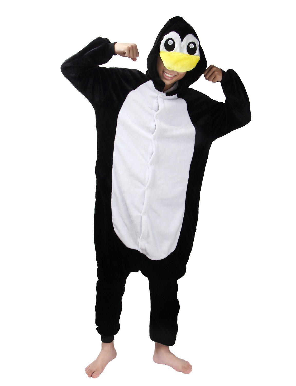 LATH.PIN Unisex Adulto Cosplay Halloween Costume Animale Pigiama Tuta IT-SLP-QIE-M