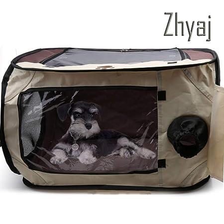 Zhyaj Perrera Al Aire Libre, Portátil Viajar Perros De Mascotas ...