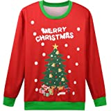 Hsctek Christmas Tree Sweater, Kids Xmas Sweater