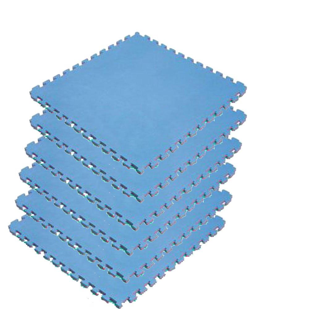 リバーシブルジョイントマット2(2cmタイプ)NRJM20【カラー:レッド×ブルー】6枚セット B00JQ4L140