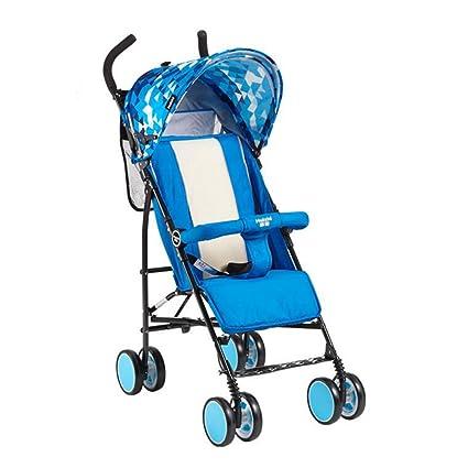 YXINY cochecito cochecito cochecito cochecito bebe arrugable luz puede sentarse puede Lie Down paraguas coche plegable