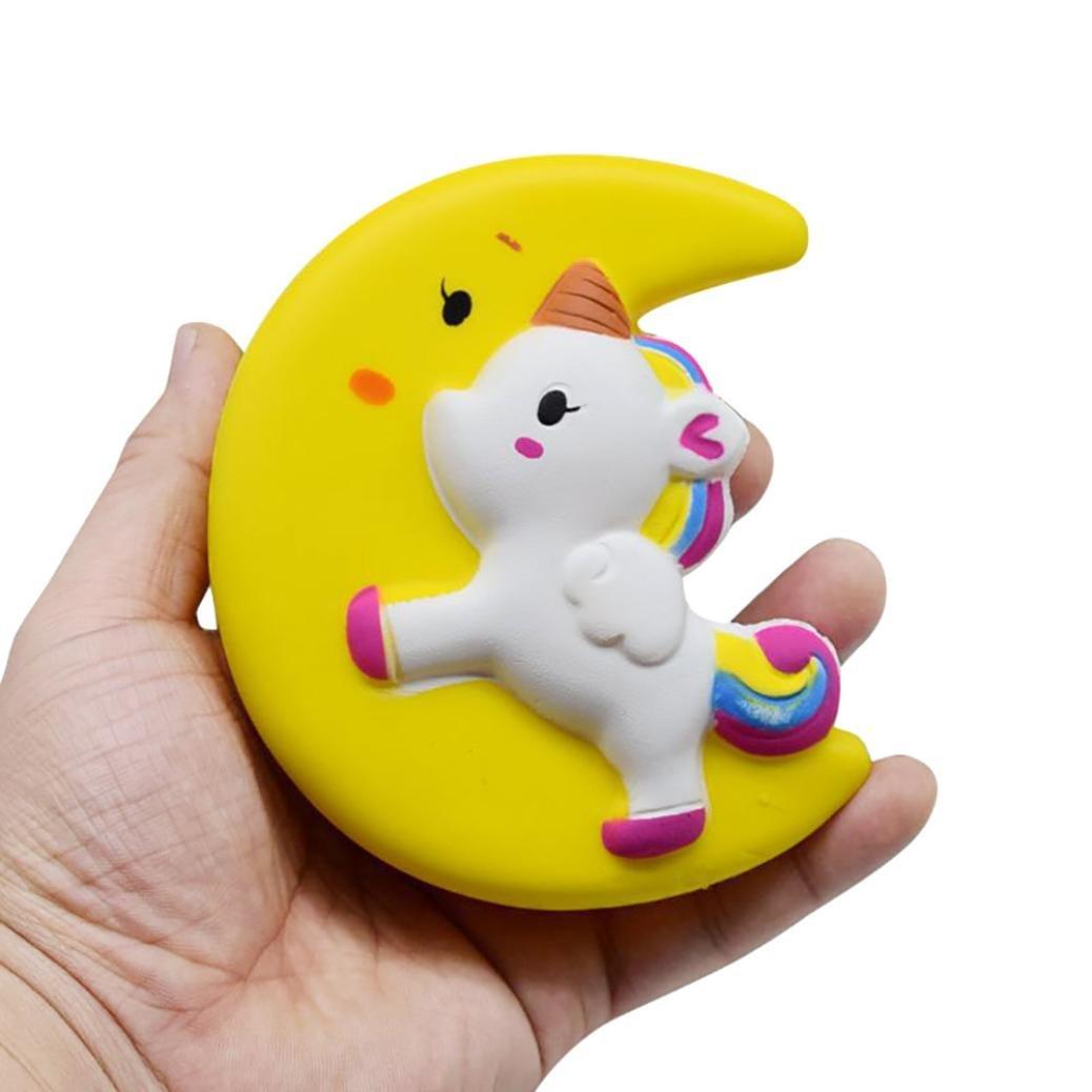 CSSD Squishy {Hamster/Panda Burger/Strawberry Mouse/Jumbo Strawberry Cake/Cartoon Big Eye Bear/Moon Unicorn/Cute Panda Cake} {Slow Rising} {Stress Reliever} Fun Squeezable Healing Gifts To (H)