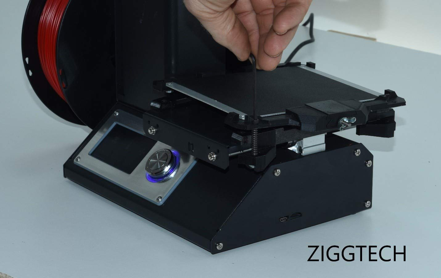 Monoprice Select Mini Build Plate Kit Glass Holder Glass Not Included Zigg Tech