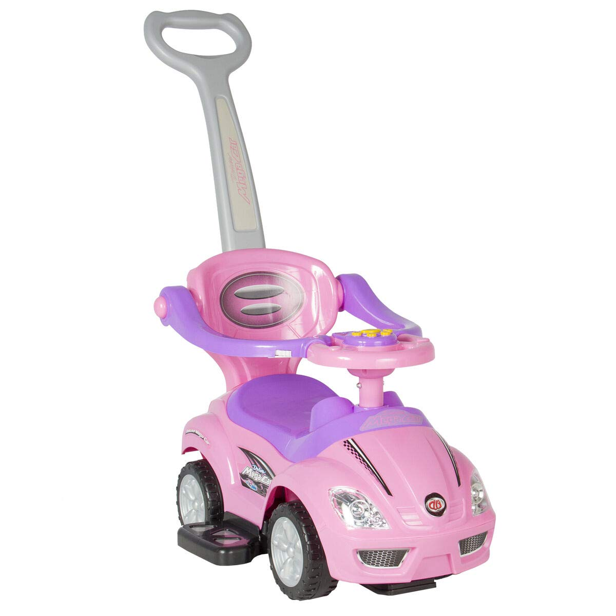 3-in-1 Kids Push Car w/ Handle and Horn, Best Children's Toys 2019