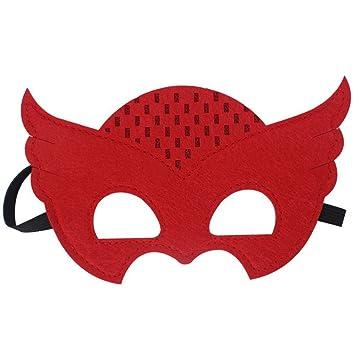 PromMask Mascara Facial Careta Protector de Cara dominó Frente Falso Niño máscara Gafas máscara de niño