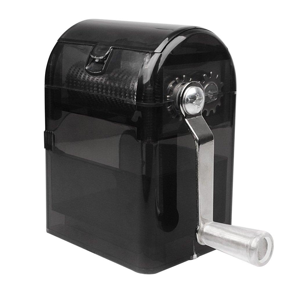 BESTOMZ Hand Crank Crusher Tobacco Cutter with Tobacco Storage Case Hand Muller Smoking Case