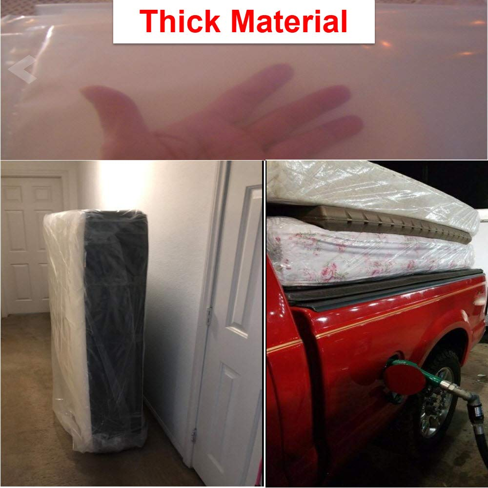 Mattress Bag Cover For Moving Or Storage 5 Mil Heavy