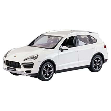 Buy Deliababy Porsche Cayenne Turbo White Online At Low Prices In
