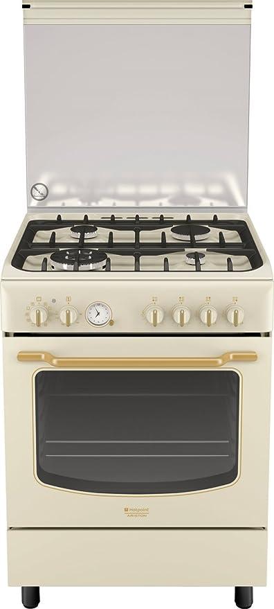 Hotpoint Ariston Cucina a Gas 4 fuochi Forno Elettrico 60x60 ...