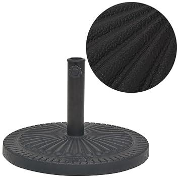 vidaXL Sonnenschirmständer Granit 25kg Schirmfuß Schirmständer Schirm Ständer