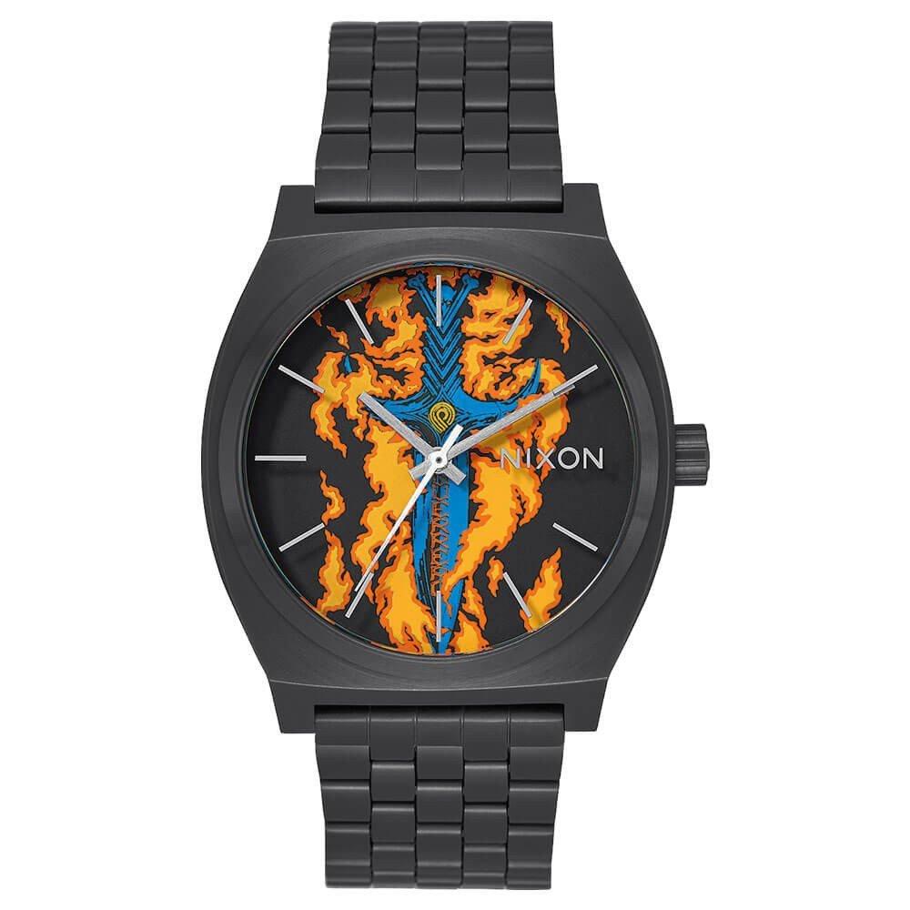 [ニクソン] NIXON ポーチ 腕時計 A045 時計 タイムテラー TIME TELLER ステンレス 生活防水 2年保証 レディース メンズ 防水 かわいい おしゃれ ゴールド カラフル B01MYZ5C68