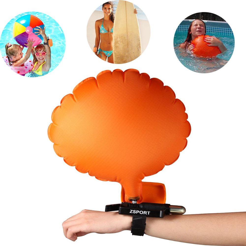 ZsportウェアラブルポータブルDrowning RescueデバイスFloatリストバンド、軽量水Buoyancy Aidデバイスfor Adult Kids &新しい水泳Drowning With Inflatable Gasbag水泳安全デバイス  inflatable floats B072FRMJT4