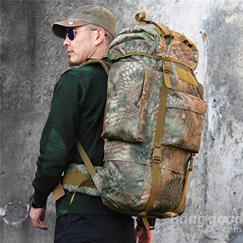 Lelantus 65l trekking rucksack rucksack taktische militär camo umhängetasche für camping wandern