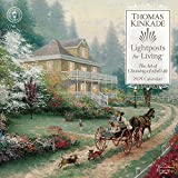 Book cover from Thomas Kinkade Lightposts for Living 2019 Wall Calendar by Thomas Kinkade