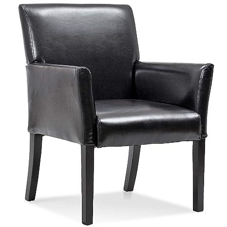 Strange Amazon Com Lucky T Modern Pu Leather Executive Arm Creativecarmelina Interior Chair Design Creativecarmelinacom