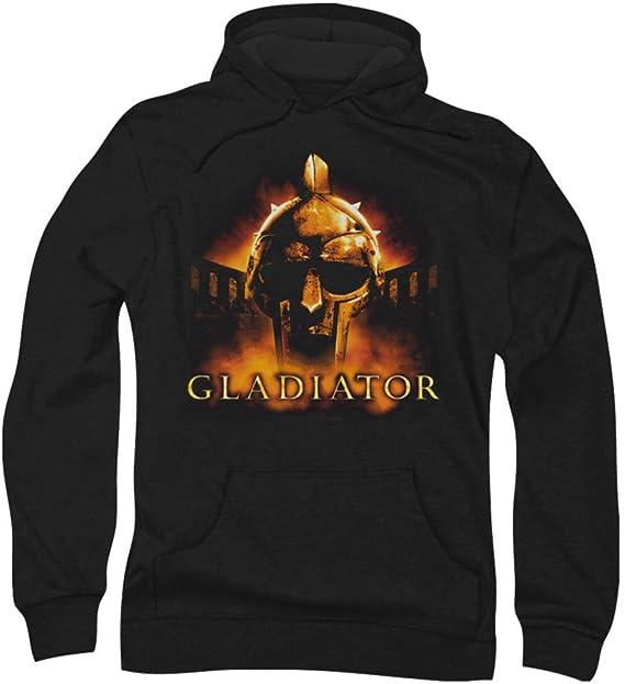 Gladiator - Hombres mi nombre es sudadera con capucha, Medium, Black: Amazon.es: Ropa y accesorios
