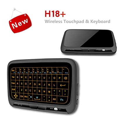 Amazon com: ikotayou H18+ Mini Wireless Keyboard, 2 4GHz