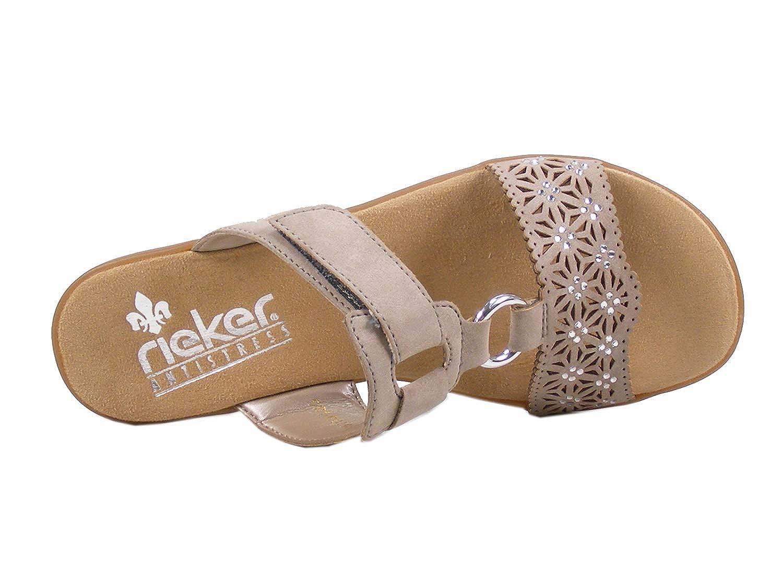 c0b98ca2572f Rieker V3411 Damen Pantoletten, Clogs, Sommerschuhe  Amazon.de  Schuhe    Handtaschen