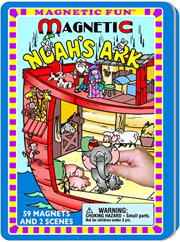 - Lee Publications Noah's Ark Magnetic Fun Tin