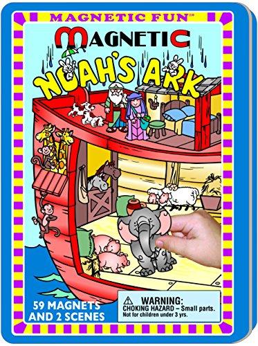 (Lee Publications Noah's Ark Magnetic Fun Tin)