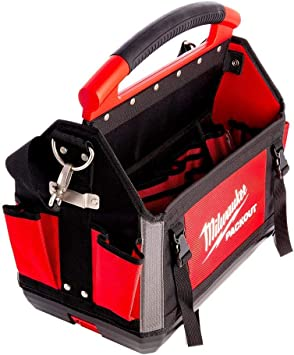 Milwaukee 932464085 - Bolsa para herramientas (40 cm), color rojo: Amazon.es: Bricolaje y herramientas