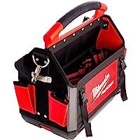 Milwaukee T4932464085 Ağır Hizmet Tipi Packout Alet Taşıma Çantası, 40Cm 31 Cep