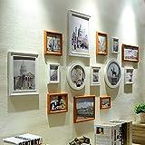 Photo Wall, Nordic Photo Wall Creative Photo Frame Wall Photo Wall Living Room Bedroom Sofa Background Wall ( Color : 1# )