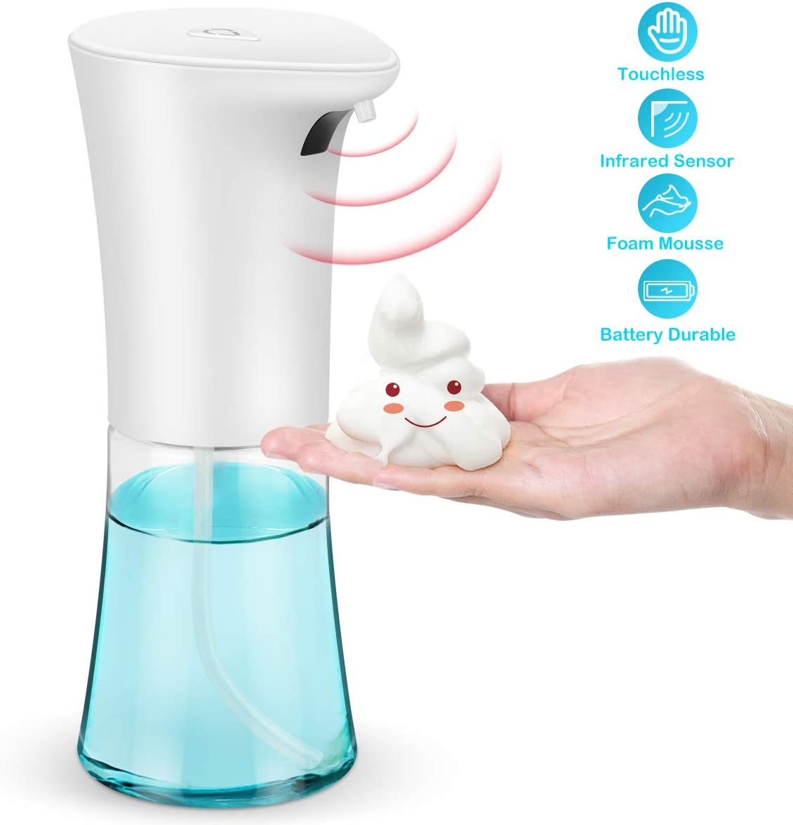 300ml Intelligent Touchless Automatic Sensor Foam Soap Dispenser Kitchen Hotel