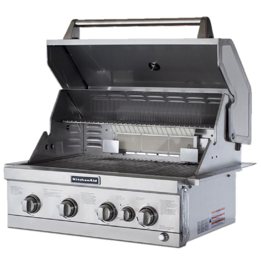Amazon.com : KitchenAid 740-0780 4MB+RB Propane Gas Grill : Patio ...